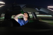 Clujean beat și fără permis, prins în timp ce conducea un autoturism