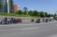 FOTO/VIDEO impresionant: Sute de motocicliști, paradă prin Cluj-Napoca
