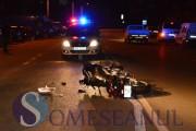 VIDEO - Doi tineri din județul Cluj, aflați pe o motocicletă, au ajuns de urgență la spital din cauza unui șofer inconștient