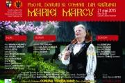 """Spectacol folcloric """"Flori, doruri şi comori din grădina Mariei Marcu"""""""