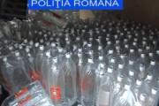 Sute de litri de alcool au fost confiscați la Jucu