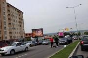 FOTO - Femeie SPULBERATĂ  de o mașină pe Calea Turzii