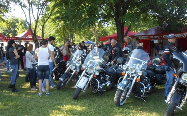 Întâlnirea anuală a motocicliștilor din România. Sute de bikeri vin la Cluj