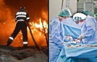 Copilașii care au suferit arsuri grave în incendiul de la Săcuieu au fost transportați cu un avion militar la București. Avem vești despre starea lor!