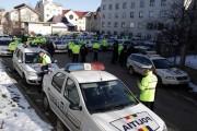 Zeci de amenzi și permise ridicate de agenții de la rutieră