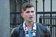 VIDEO - Un suporter rapidist a fost reținut 24 de ore pentru lovirea unui jandarm clujean