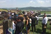 FOTO - Înmormântare Dafinel: Peste 1000 de oameni l-au condus pe biker pe ultimul drum