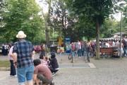 FOTO/VIDEO - Parcurile din Cluj-Napoca, luate cu asalt de clujenii dornici de relaxare în a doua zi de Rusalii