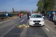 Accident mortal cu semne de întrebare la Cluj. Biciclist omorât de o mașină aflată în depășirea unui TIR