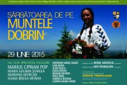 Sărbătoare pe muntele Dobrin