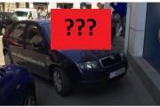 FOTO - Corecția DURĂ primită de un BOU care a parcat pe trotuar în centrul Clujului