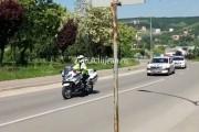 5 motociclete noi au intrat în dotarea polițiștilor de la Autostrăzi. Clujul a primit un pumn în bot!