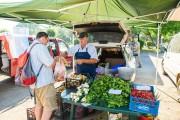 Piața volantă în cartierul Grigorescu