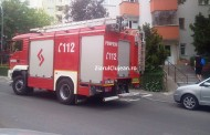 FOTO - Panică într-un bloc din Mănăștur! Pompierii au intervenit de urgență