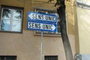 Sens unic de circulație pe două străzi din Cluj-Napoca