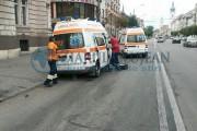 Date oficiale despre șoferul surdo-mut, care a lovit o ambulanță în fața Prefecturii