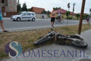 VIDEO - Biker beat, fără permis, motor împrumutat, accident garantat