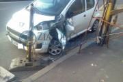Șofer beat, accident pe strada Fabricii