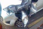 Inconștient  fără permis, accident pe strada Petuniei din Cluj-Napoca
