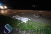VIDEO – Biciclist omorât de mașină pe un drum din Cluj