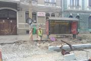 FOTO - Muncitorii nimănui de pe străzile Clujului. Bătaia de joc a angajatorilor, dar și a ITM