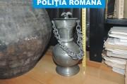 FOTO/VIDEO - Percheziții în Cluj și Bistrița. 500 de unelte arheologice au fost ridicate