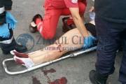 Femeie din Sălaj, rănită grav într-un accident violent petrecut în Cluj