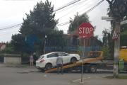 FOTO - Accident în Piața 14 Iulie din Grigorescu