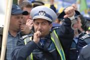 Majorarea salariilor din sistemul sanitar îi scoate și pe polițiștii clujeni în stradă: