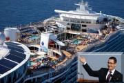 FOTO - Victor Ponta, vacanță pe cel mai mare și luxos vas de croazieră din lume - Oasis of the Seas