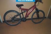 Bicicletă furată în mai, de un minor, recuperată în septembrie