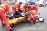 FOTO - Cine era bikerul UCIS duminică dimineața în accidentul moto de pe strada București. Mama lui a presimțit nenorocirea