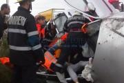 Carambol la Jucu! Patru mașini implicate și cinci persoane rănite