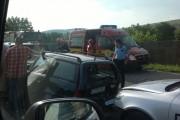 Carambol în Florești! Patru mașini distruse și o persoană rănită grav