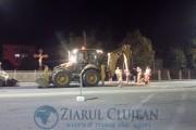 FOTO/VIDEO - Bătaie de joc sau incompetență? De 5 ori au greșit asfaltarea pe Calea Baciului