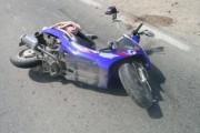 Adolescent beat și fără permis, accident la Sânmărtin. El și un prieten al său au fost răniți