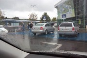 Trei șoferi nesimțiți, exemple de parcări în Cluj-Napoca