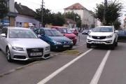Sancțiuni de peste 10.000 lei pentru parcări pe pistele de biciclete din Cluj-Napoca
