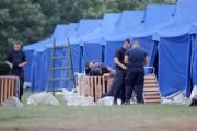 Vin refugiații! România îi așteaptă cu corturi la graniță