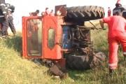 Accident mortal cu tractorul