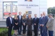 Delegaţie olandeză, în vizită la Consiliul Judeţean Cluj. Despre ce s-a discutat