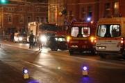Tânăr beat și fără permis, accident în Piața Ștefan cel Mare