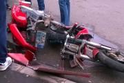 Accident grav între o motocicletă și o mașină! Ambii șoferi erau beți
