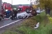 VIDEO - Taximetrist teribilist de la NOVA TAXI, accident grav la Apahida. Ce voia să facă