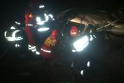 Șofer beat și cu permisul suspendat, accident într-o localitate din Cluj