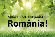 Liber la înscriere! Împădurim România pe 14 noiembrie
