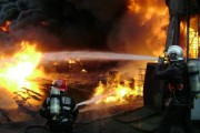 Tragedie în județul Cluj. Un bărbat a ars de viu în propria casă