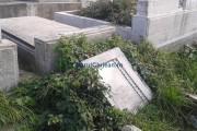 Clujeancă: Cimitirul din Mănăștur arată jalnic