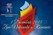 Cluj-Napoca:  Programul Zilei de 1 Decembrie, fără artificii și torțe