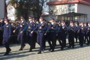 """FOTO - 125  de elevi ai școlii de Poliție """"Septimiu Mureşan"""" Cluj-Napoca au depus jurământul"""
